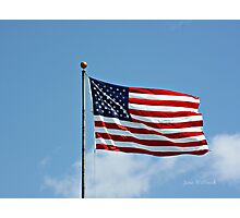 Beautiful Flag Photographic Print