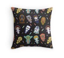 Star Wars Cuties Party Throw Pillow