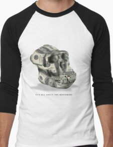 It's all about the Benjamins Men's Baseball ¾ T-Shirt