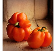 Sweet peppers Photographic Print