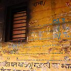 Photography of Indian wall inscription by Mel-D