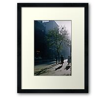 Early morning Collins Street 19570100 0000 Framed Print