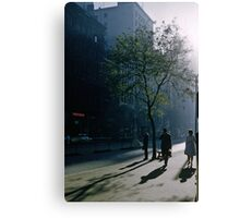 Early morning Collins Street 19570100 0000 Canvas Print