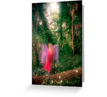 Forest Fae Greeting Card