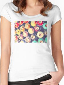 Cans Women's Fitted Scoop T-Shirt