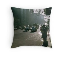 Looking east Collins Street early morning 19570100 0000 Throw Pillow