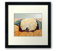 Brie and Pineapple Framed Print