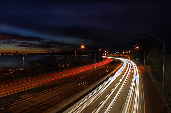 Kwinana Freeway - Western Australia  by EOS20