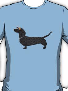 steampunk dachshund T-Shirt