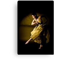 freedom of dance Canvas Print