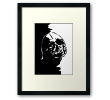 Do you feel it? White version Framed Print