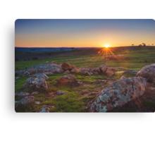 Mt Pleasant, South Australia Canvas Print
