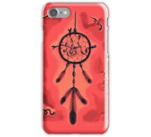 Catching Dreams (Red) iPhone Case/Skin