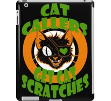 Cat Callers iPad Case/Skin