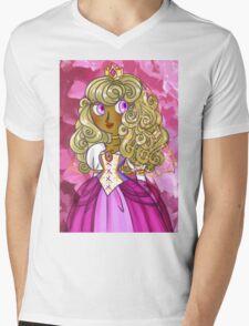 Princesss Mens V-Neck T-Shirt