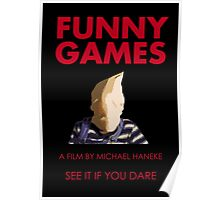 Funny Games Bag Boy Poster