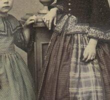 Victorian Sisters Sticker