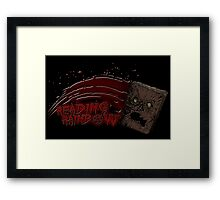 Reading Rainbow Necronomicon Framed Print