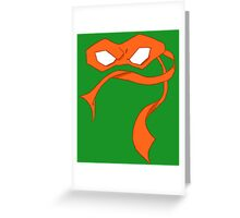 Mikey Mask Greeting Card