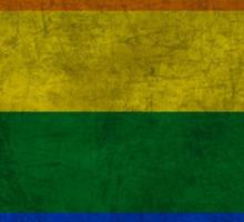 Round Rainbow Sticker