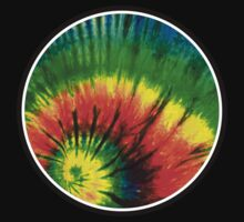 Round Tie Dye by coolvintage