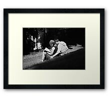 Lazy Sunday II Framed Print