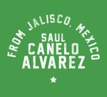 Saul 'Canelo' Alvarez - Letterpress Kids Clothes