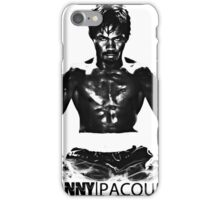 Manny Pacman Pacquiao DESTROY Floyd Mayweather boxing shirt iPhone Case/Skin