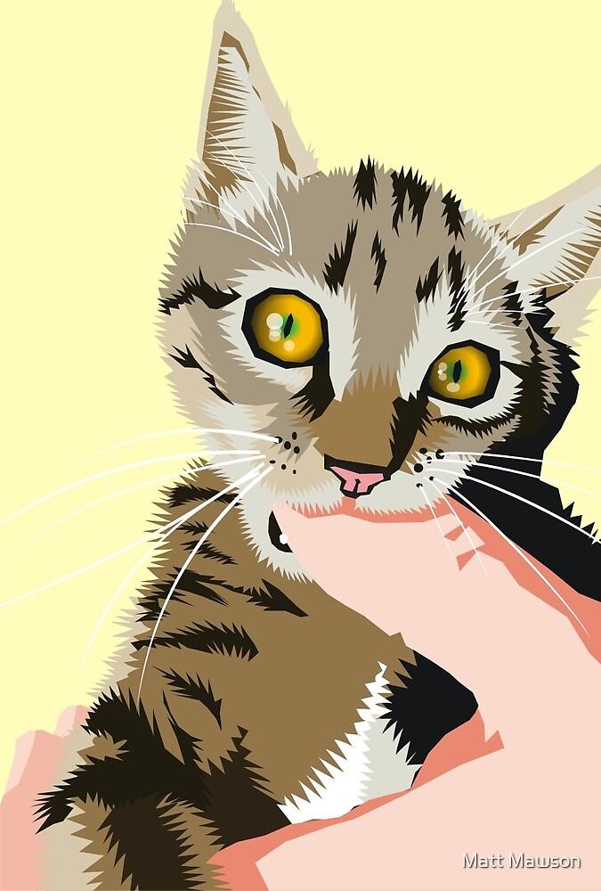 thumb thing to chew on by Matt Mawson