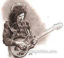 Brian May by Alleycatsgarden