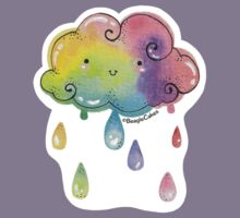 Whimisical Rainbow Showers Kids Clothes