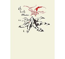 Lonely Mountain, Smaug, The Hobbit, LOTR Photographic Print