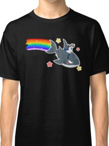 Wadanohara and the Great Blue Sea - Wadanohara and Samekichi riding the Rainbow Classic T-Shirt
