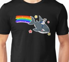 Wadanohara and the Great Blue Sea - Wadanohara and Samekichi riding the Rainbow Unisex T-Shirt