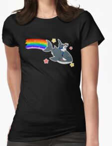 Wadanohara and the Great Blue Sea - Wadanohara and Samekichi riding the Rainbow Womens Fitted T-Shirt