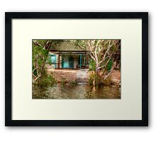 Hut on the Donnelly River, Nr Pemberton, Western Australia Framed Print