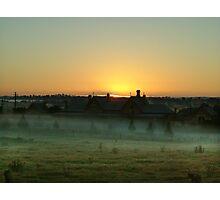 ANZAC Dawn at Tenterfield 2005 Photographic Print