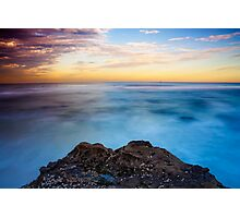 Sunsets Over The Beach Photographic Print