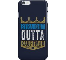 Straight Outta Kauffman (color) iPhone Case/Skin