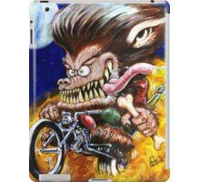 Werewolf on Wheels iPad Case/Skin