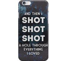 Shots Lyrics iPhone Case/Skin