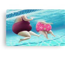 Women Bathers Canvas Print