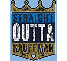 Straight Outta Kauffman (alt color) Photographic Print