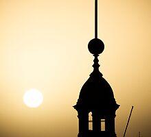 Sunrise over Newcastle by Doug Hall