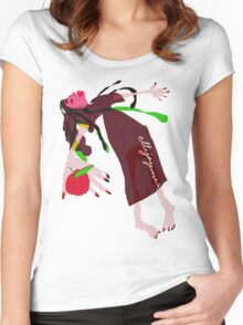 """""""Snow White"""" Women's Fitted Scoop T-Shirt"""