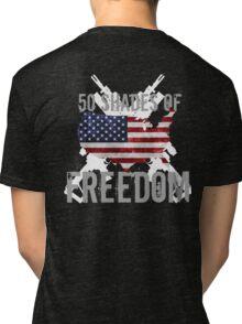 50 Shades of Freedom  Tri-blend T-Shirt