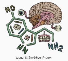 Serotonin by alienredwolf