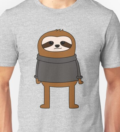 Simple Sloth Steve Unisex T-Shirt