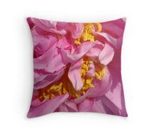 Peony Show Throw Pillow