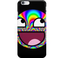 Awesome face - Trippy iPhone Case/Skin